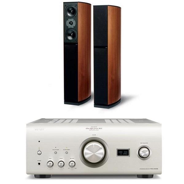 Bộ Dàn Âm Thanh Nghe Nhạc 2 Kênh Stereo (SERIES 8) ( Loa Jamo D590 + Amply Denon PMA-2500NE)