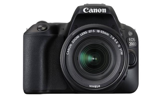 MÁY ẢNH CANON EOS 200D kit 18-55 IS STM (đen)