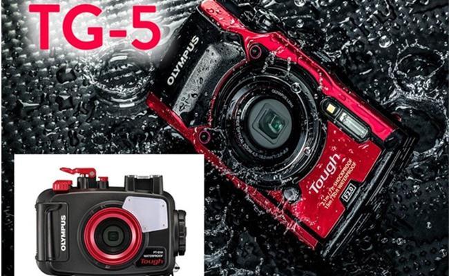 Máy ảnh Olympus Stylus TOUGH TG-5 (đỏ)