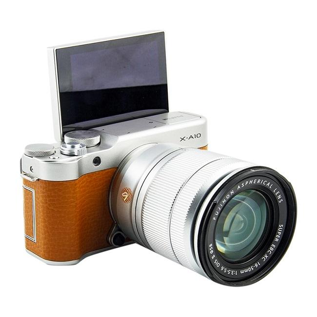Máy ảnh Fujifilm X-A10 kit XC16-50MM F3.5-5.6 OIS II (Nâu)