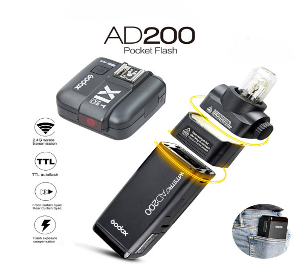 Đèn Godox AD200 - Pocket Flash AD200