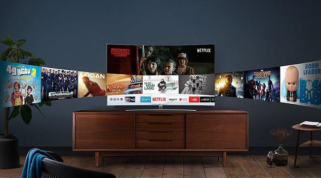 Tivi Samsung 55MU6103 (Smart TV, 4K UHD, HDR, 55 inch)