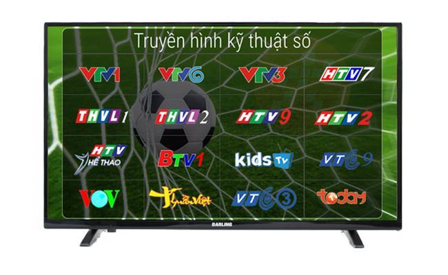 Tivi Darling 39HD940T2 (Led TV, HD, 39 inch)