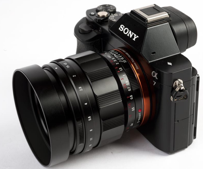 Ống kính VOIGTLANDER NOKTON 40MM F1.2 ASPHERICAL FE for Sony