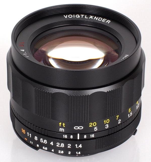 ỐNG KÍNH Voigtlander Nokton 58mm f/1.4 SL II