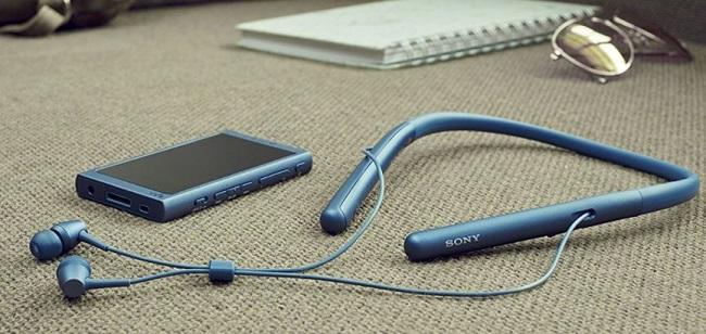 Tai nghe Hi-res Sony WI-H700 (Xanh Dương)