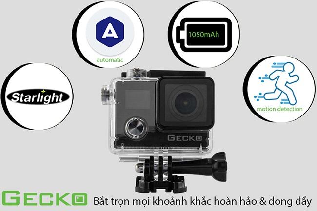 Máy quay thể thao Gecko Star - S1 (Amkov 8000s Plus)