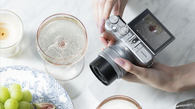 Máy ảnh Fujifilm X-A5 Kit 15-45 mm F 3.5.5.6 OIS PZ (Nâu)