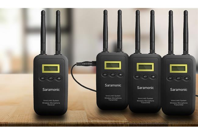 Microphone SARAMONIC VMICLINK5 (RX+3TX)