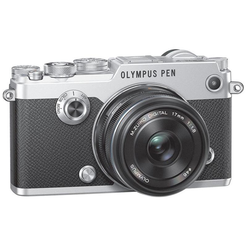 olympus-penf-kit-with-mzuiko-digital-17mm-f18-silver