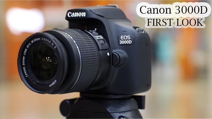 Máy Ảnh Canon EOS 3000D Kit 18-55mm F3.5-5.6 III