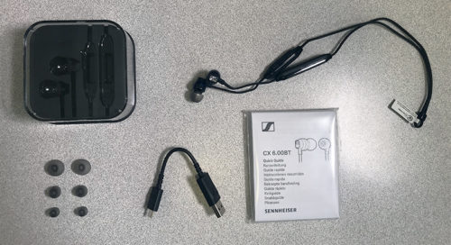 Tai nghe bluetooth Sennheiser CX 6.00BT