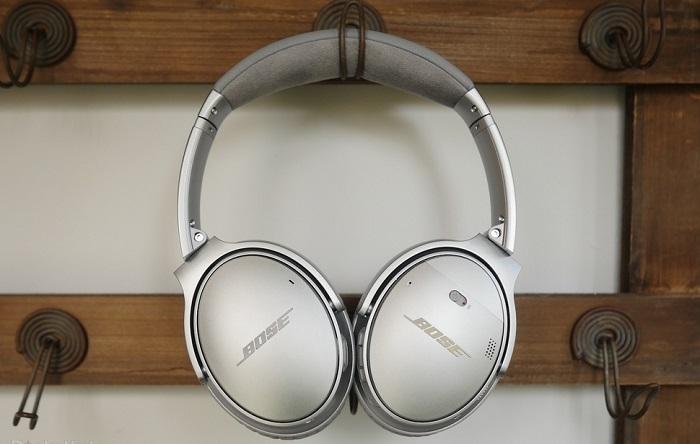 Tai nghe không dây Bose QuietComfort 35 II (Bạc)