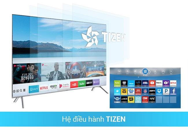 Tivi Samsung UA55NU7100KXXV (Smart TV, UHD 4K, 55 inch)