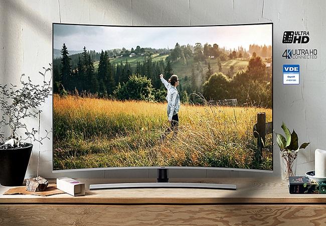 Tivi Premium Samsung UA55NU8500KXXV (Smart TV,Màn Hình Cong, UHD 4K, 55 inch)