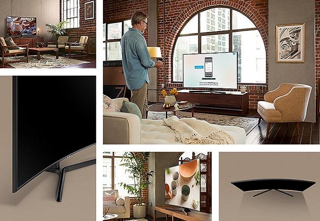 Tivi Samsung UA55NU7500KXXV (Smart TV,Màn Hình Cong, UHD 4K, 55 inch)