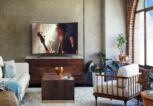 Tivi Samsung UA55NU7300KXXV (Smart TV, Màn Hình Cong, UHD 4K, 55 inch)