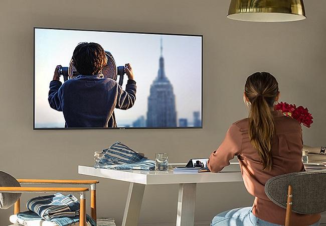 Tivi Samsung UA43NU7400KXXV (Smart TV, UHD 4K, 43 inch)