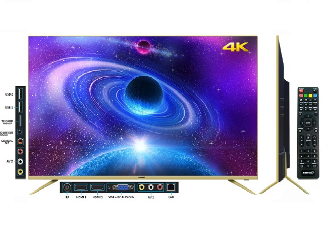 Tivi Asanzo 50AU6000 (Smart TV, 4K, 50 inch)
