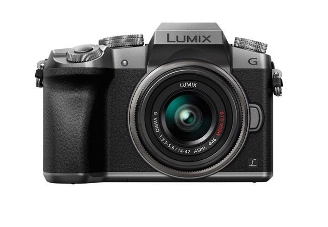 Máy ảnh Panasonic Lumix G7 kit 14-42MM (Bạc)