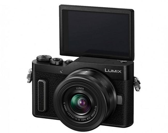 Máy ảnh Panasonic Lumix GF10 + kit 12-32MM (Đen)