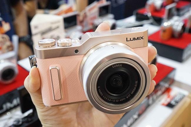 Máy ảnh Panasonic Lumix GF10 + kit 12-32MM (Hồng)