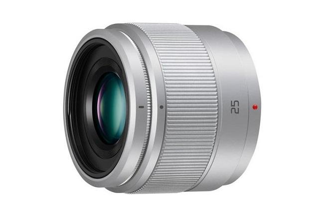 Ống Kính Panasonic Lumix G 25mm f/1.7 ASPH (Bạc)