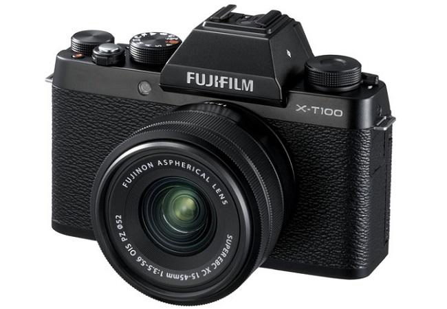 MÁY ẢNH FUJIFILM X-T100 kit 15-45MM (ĐEN)