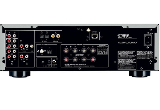 Amply Yamaha R-N803 Network Receiver