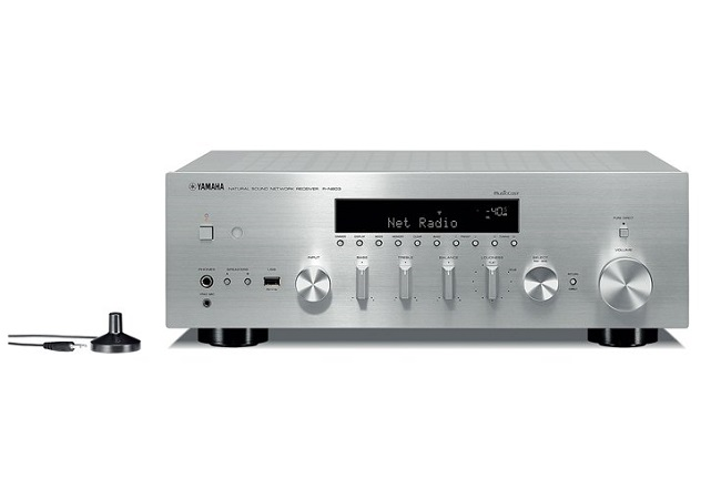 Amply Yamaha R-N803 Network Receiver (Bạc)