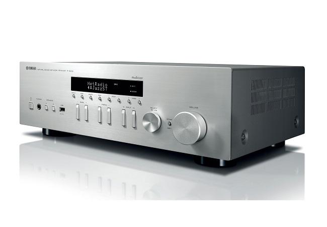 Amply Yamaha R-N402 Network Receiver (Bạc)
