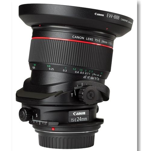 Ống Kính Canon TS-E 24mm F3.5 L II