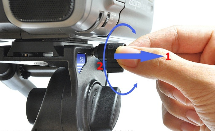 Chân Máy Video Benro C38TDS2
