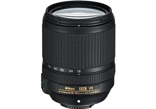 Ống Kính Nikon AF-S DX NIKKOR 18-140 F/3.5-5.6 G ED VR (Hàng Nhập Khẩu)