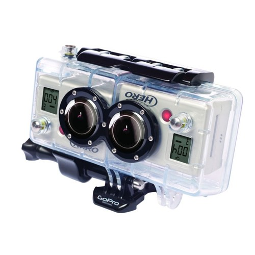 Gopro 3D Housing And Sinc Cable