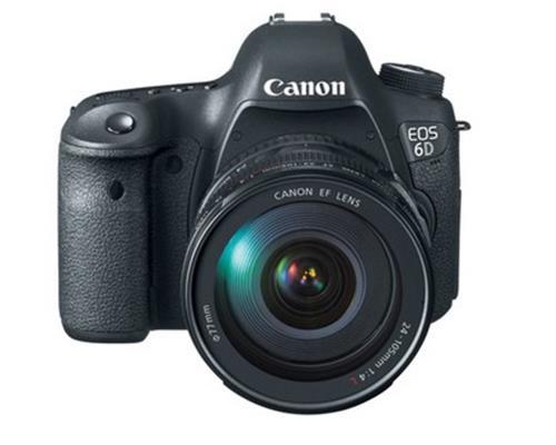 Máy Ảnh Canon EOS 6D Có Gì Mới