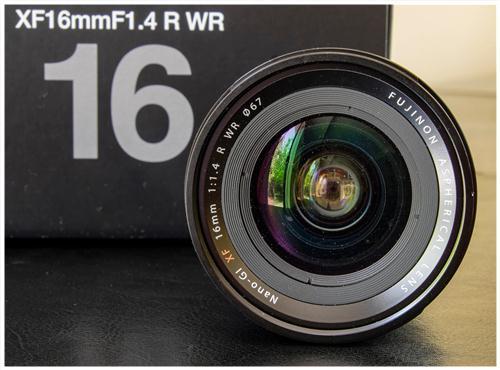Ống Kính Fujifilm (Fujinon) XF16mm F1.4 R WR