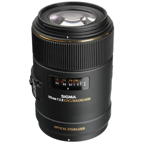 Ống Kính Sigma 105mm F2.8 EX DG OS HSM Macro