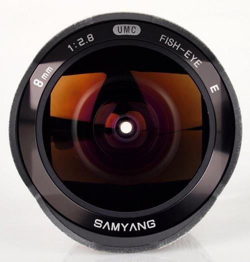 Ống kính Samyang 8mm f/2.8 UMC Fisheye Sony Nex