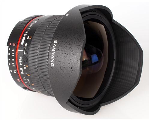 Ống Kính Samyang 8mm F3.5 fisheye/ Nikon APS-C