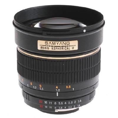 Ống kính Samyang 85 mm f/1.4 IF MC Aspherical for Nikon