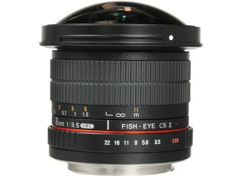 Ống kính Samyang 8mm F3.5 fisheye/ Canon APS-C