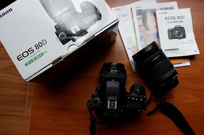 Máy Ảnh Canon EOS 80D Body