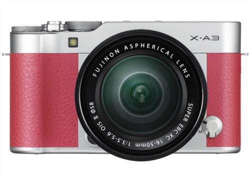 Máy Ảnh Fujifilm X-A3 Kit XC16-50mm F3.5-5.6 OIS II (Hồng)