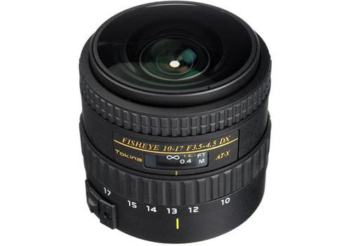 Ống Kính Tokina AT-X 10-17mm F3.5-4.5 Fish-Eye DX