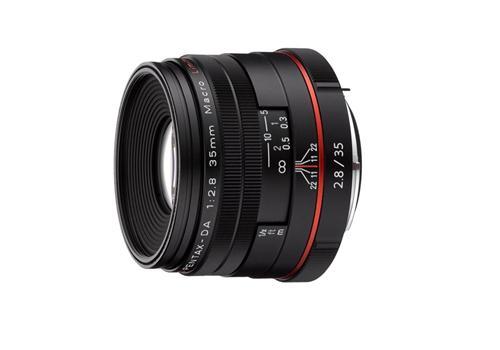 Ống Kính Pentax HD DA 35mm/F2.8 Macro Limited