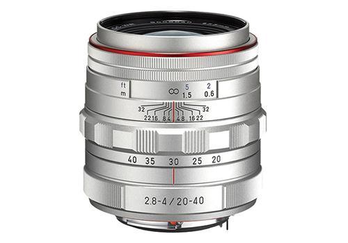 Ống Kính Pentax HD DA 20-40mm/F2.8-4 Limited (Bạc)