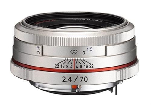 Ống Kính Pentax HD DA 70mm/f2.4 Limited (Bạc)
