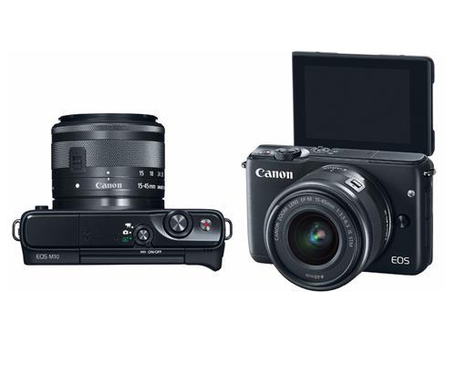 Máy-Ảnh-Canon-EOS-M10-Kit-EF-M15-45 (Đen)1