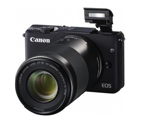 Máy-Ảnh-Canon-EOS-M10-Kit-EF-M15-45 (Đen)
